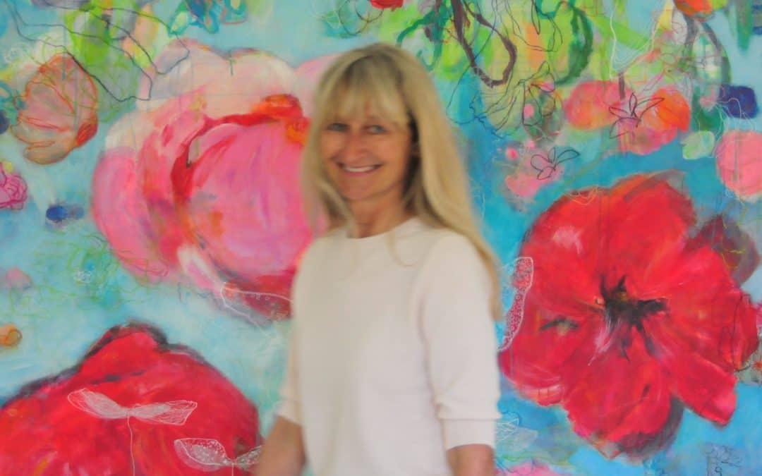 """Ausstellung """"Blütenhafte Bilderwelten"""" im Cocodrillo"""